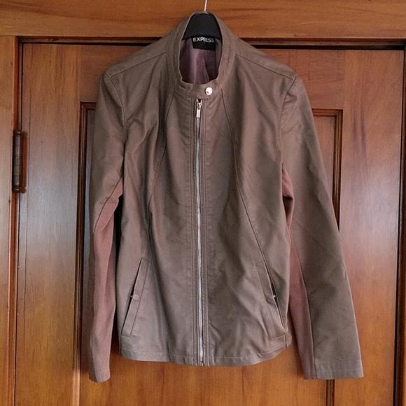 Express Jackets & Blazers - Express Faux Leather Jacket